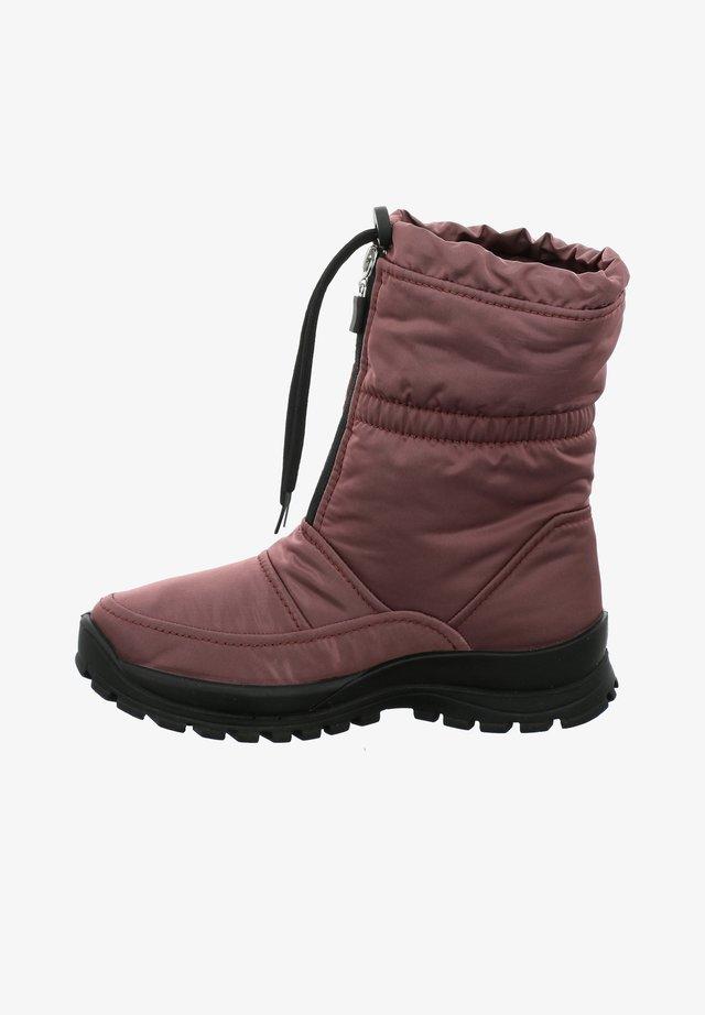 GRENOBLE  - Winter boots - aubergine