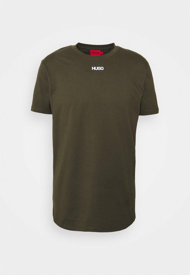 HUGO - DURNED - Basic T-shirt - dark green