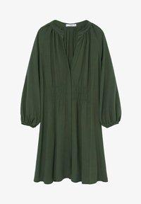 Mango - ROBE - Korte jurk - vert foncé - 5