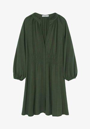 ROBE - Denní šaty - vert foncé
