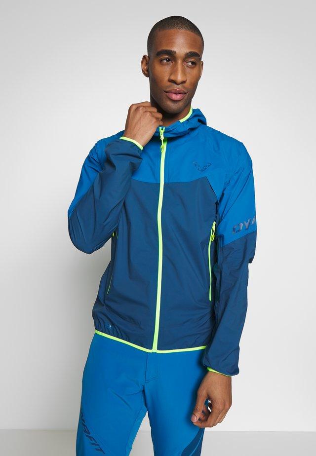 TRANSALPER LIGHT - Hardshell jacket - mykonos blue