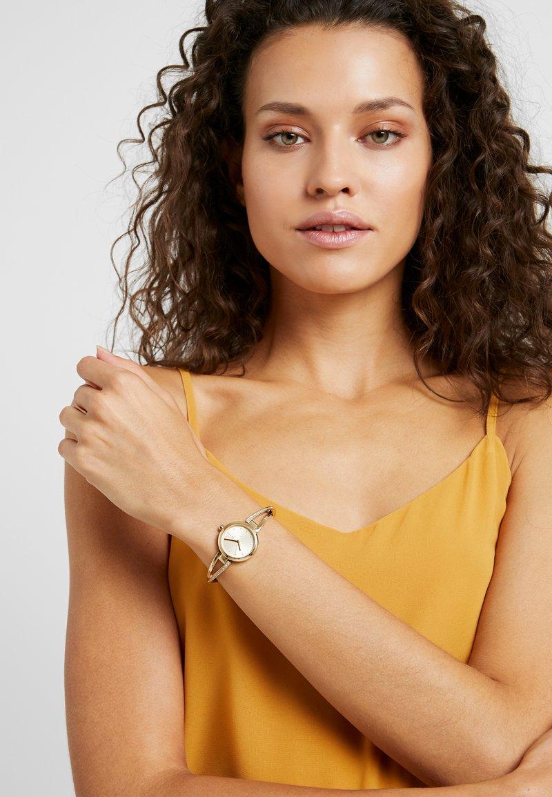 DKNY - CROSSWALK - Watch - gold-coloured