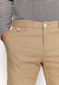 Tommy Hilfiger Tailored - FLEX CONTRAST DETAIL SLIM PANT - Broek - beige - 3