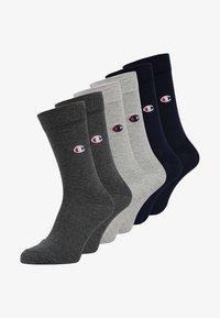 Champion - CASUAL 6 PACK - Sports socks - grey - 0