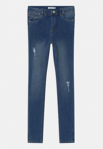 NKFPOLLY - Skinny džíny - medium blue denim