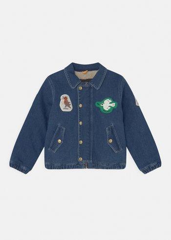 UNISEX - Denim jacket - blue