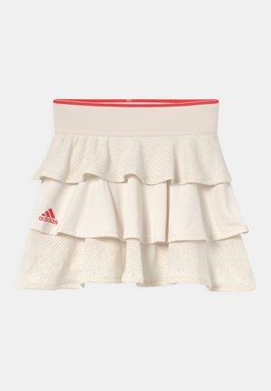 POP UP - Spódnica sportowa - white/vivid red