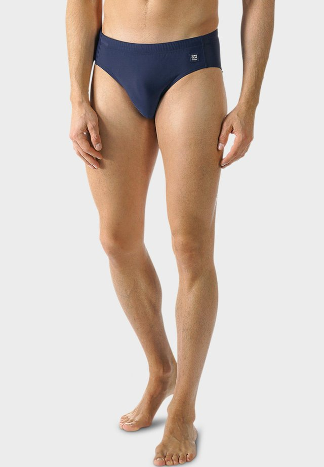 Swimming briefs - yacht blue
