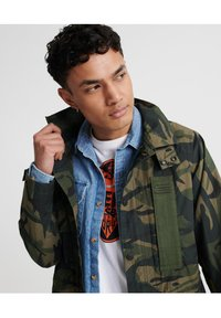 Superdry - SUPERDRY UTILITY FIELD JACKET - Outdoor jacket - army camo - 2