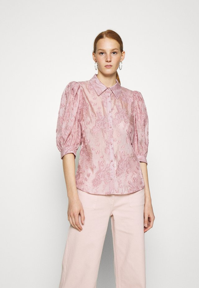 KESA - Button-down blouse - ash rose