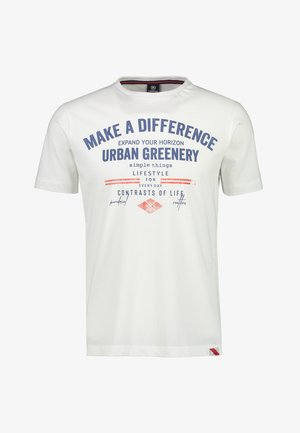MAKE A DIFFERENCE - Print T-shirt - white