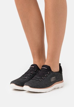 SUMMITS - Trainers - black/rose gold