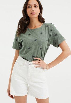 MET DESSIN - Print T-shirt - dark green