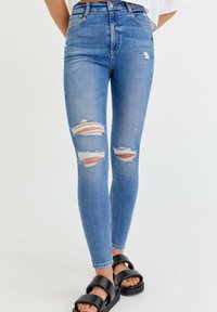 PULL&BEAR - Jeans Skinny Fit - royal blue - 0