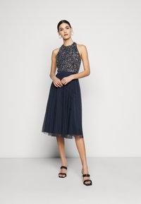 Lace & Beads Tall - SANIA TALL - Koktejlové šaty/ šaty na párty - navy - 0