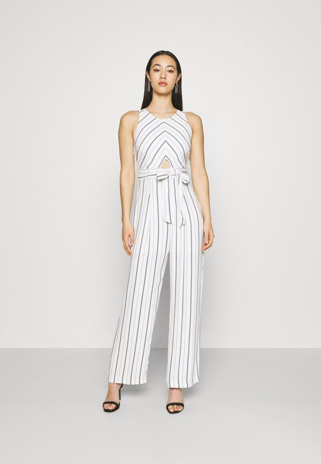 JODIE STRIPED - Jumpsuit - marine