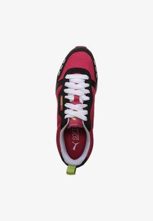 R78 UNISEX - Sneakers laag - beetroot purple / puma black / puma white