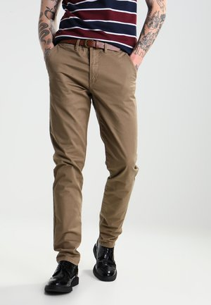 JJICODY JJSPENCER - Trousers - tan