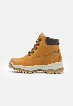 UNISEX - Lace-up ankle boots - senape/testa di moro