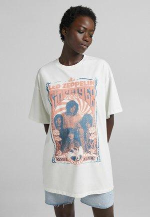 MIT LED ZEPPELIN - T-shirt imprimé - off white