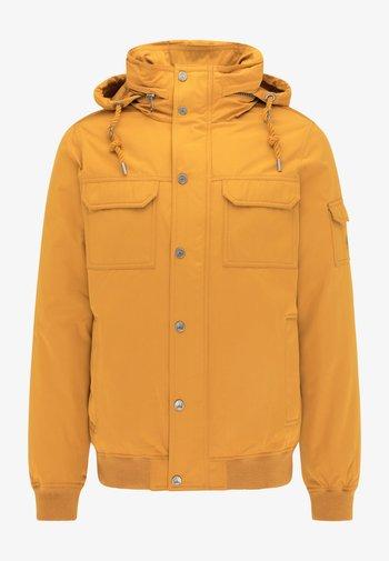 Winter jacket - mustard yellow