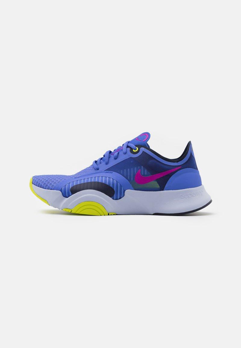 Nike Performance - SUPERREP GO - Zapatillas de entrenamiento - sapphire/red plum/blackened blue/cyber/ghost