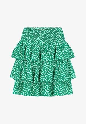 Pleated skirt - jelly bean