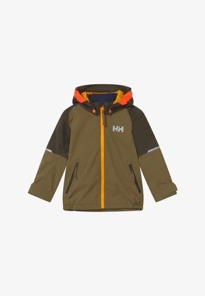 SHELTER - Kurtka Outdoor - olive