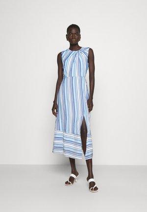 NOELLE SPRING STRIPE DRESS - Robe d'été - blue/multi