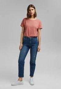 Esprit - Basic T-shirt - blush - 1