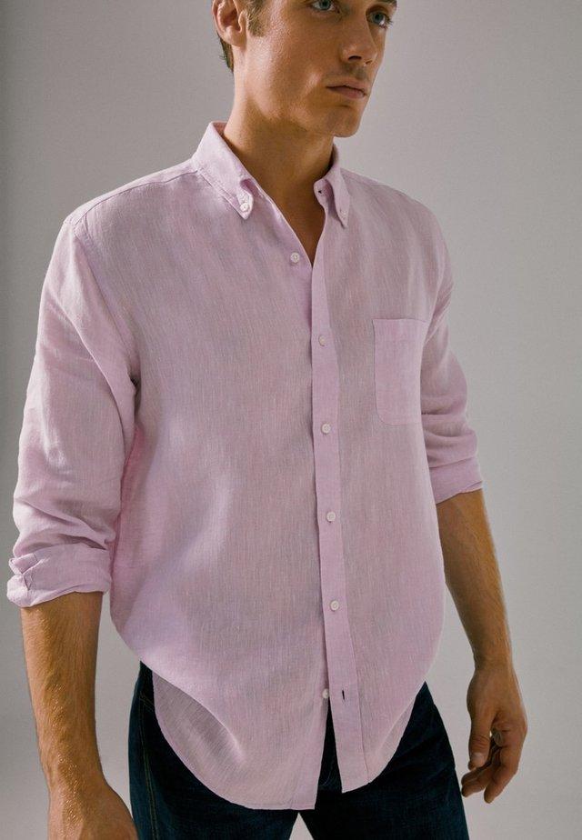 Overhemd - neon pink