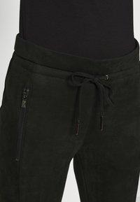 Opus - LEVINA SOFT - Trousers - black - 4