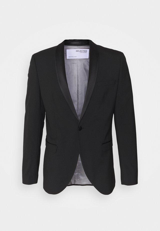 SLHSLIM SKYLOGAN TUX - Blazer - black