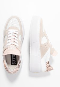 Sixtyseven - Sneakers basse - offwhite/pink blush - 3