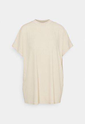 T-shirts med print - dark offwhite/beige