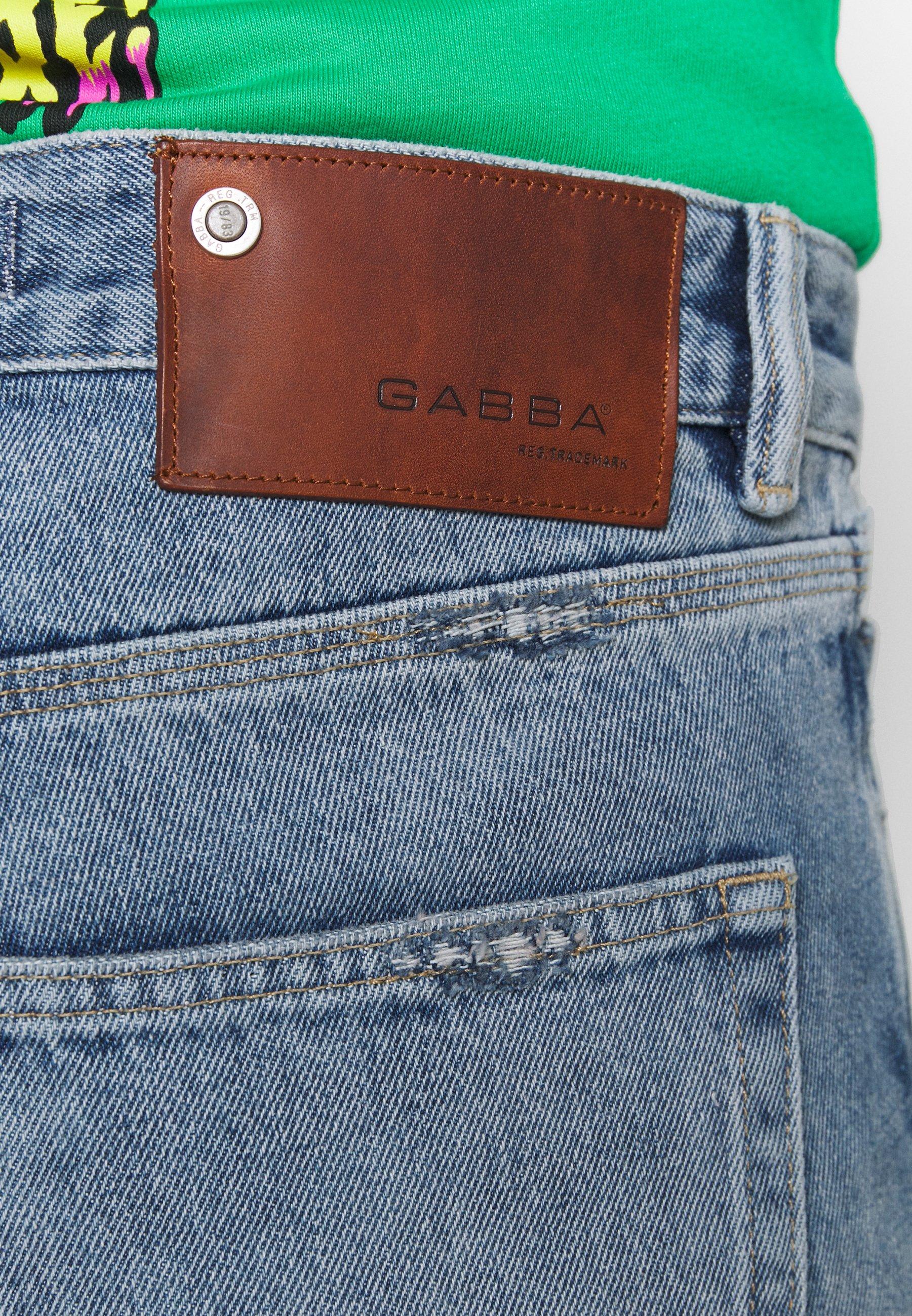 Gabba CARL  - Jean boyfriend - blue denim