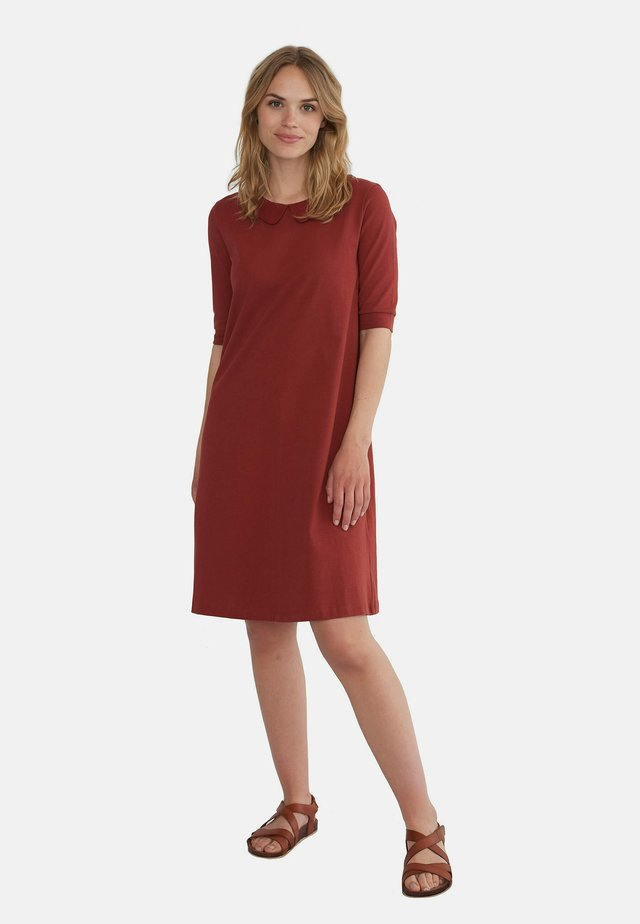 ELISE - Day dress - red