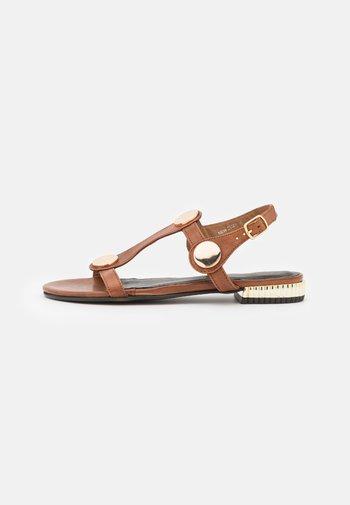 NEW ELIZA - Sandals - tan