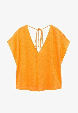 T-shirt basic - oranje