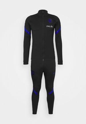NIEDERLANDE DRY SUIT - Oblečení národního týmu - black/bright blue