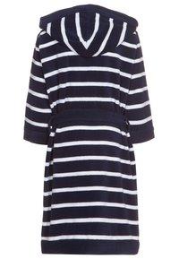 Schiesser - Dressing gown - dunkelblau - 1