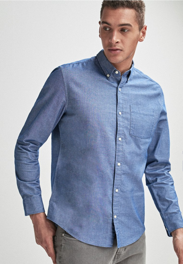 Uomo LONG SLEEVE OXFORD  REGULAR FIT - Camicia