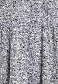 New Look Curves - FUZZY RAGLAN - Jumper dress - dark grey - 2