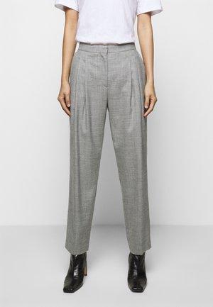 IVY PANTS - Trousers - grey melange