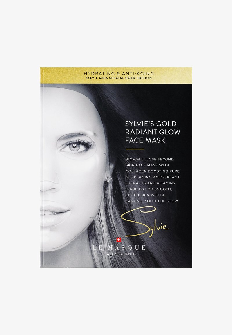 Le Masque Switzerland - SYLVIE'S GOLD RADIANT GLOW FACE MASK - Face mask - -