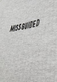 Missguided Maternity - CLIP VEST - Top - grey marl