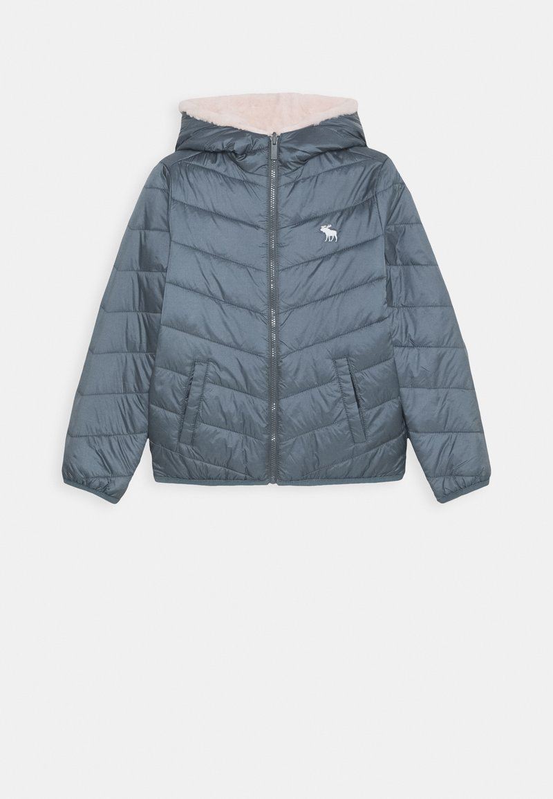Abercrombie & Fitch - COZY PUFFER - Winter jacket - blue