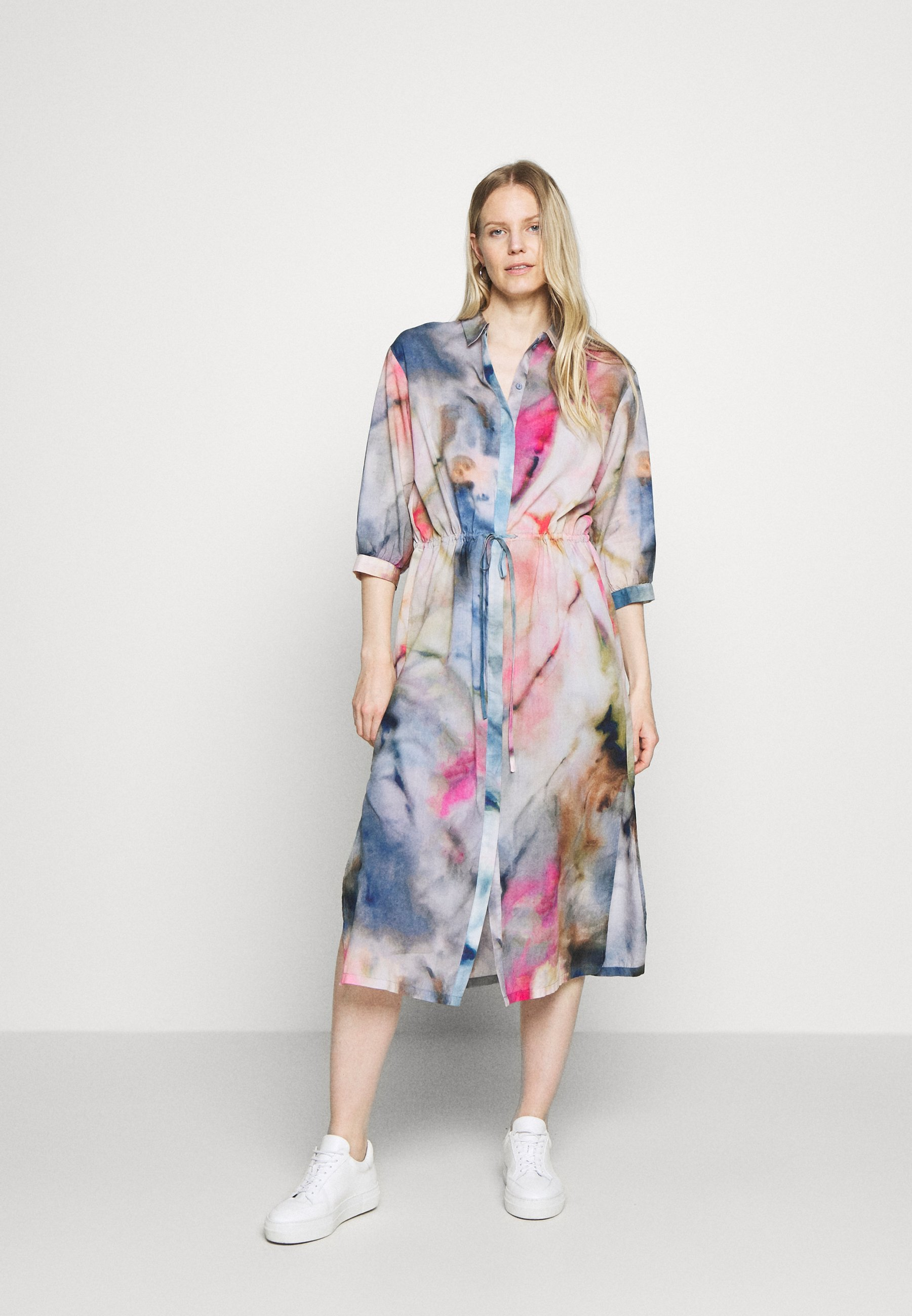 Outlet Store Women's Clothing Marc O'Polo DENIM Shirt dress multi/dream beach pm6mbmdw3
