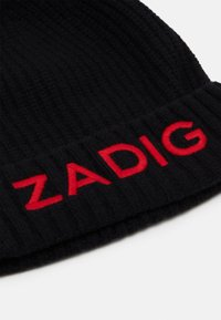 Zadig & Voltaire - PULL ON HAT UNISEX - Beanie - black