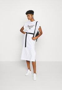 Diesel - D-FLIX-C DRESS - Jersey dress - white - 1